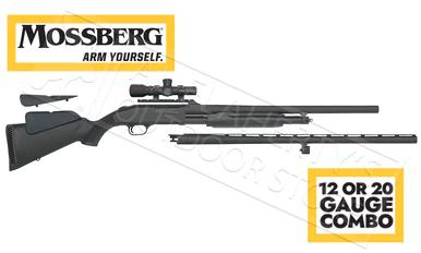 Mossberg 500 Combo Field & Deer in 12 or 20 Gauge with 2.5x Dead Ringer Scope?>
