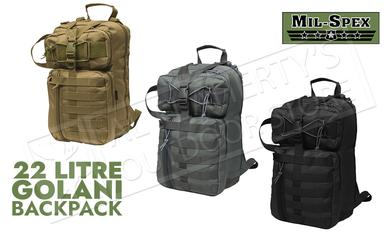 Mil-Spex Golani Tactical Pack 22L - Various Colours #258x -?>