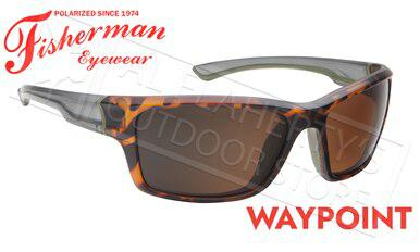 Fisherman Eyewear Waypoint Polarized Sunglasses, Matte Tortoise Frame with Brown Lens #50663202?>