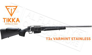 Tikka T3x Varmint Stainless Rifle - Various Calibers?>