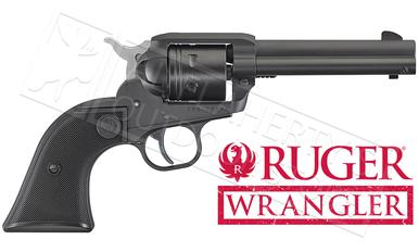 Ruger Wrangler Single-Action Revolver in Black Cerakote 22LR  #2002?>