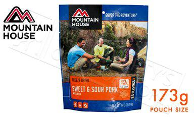 Mountain House Pouch - Sweet and Sour Pork with Rice 173g #53134?>