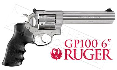 "Ruger GP100 Revolver, Stainless Steel .357 Magnum 6"" Barrel #1707?>"
