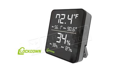 Lockdown Digital Hygrometer #1116774?>