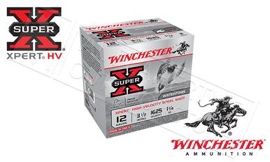 "Winchester Super-X Xpert High Velocity Waterfowl Shells 12 Gauge 3-1/2"" Steel Shot, 1-1/4 oz. 1625fps, Box of 25 #WEX12LM?>"