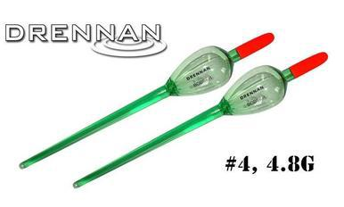 Drennan Crystal Float Bobbers, 4.8g Pack of 2 #DRBB40-P?>