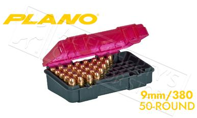 Plano Shell Case 50-Count Handgun Ammo - 9mm or 380 Caliber #122450?>