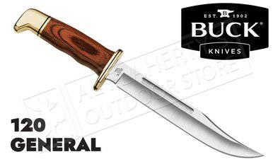 Buck Knives 120 General with Cocobola Grip & Leather Sheath #0120BRS-B?>