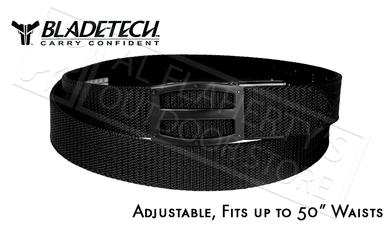 "Blade-Tech UCB Titan Belt in Black, Adjustable up to 50"" #UCB-1-1-1?>"