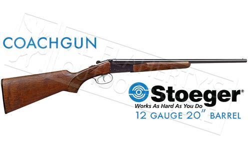 "Stoeger IGA Coach Gun, 12 Gauge, 3"" Chamber, 20"" Barrel with Fixed Chokes & Double Trigger #31400?>"