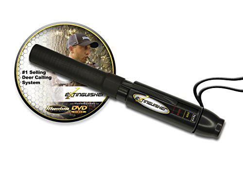 Extinguisher Deer Call (Black) with DVD Instructional!?>