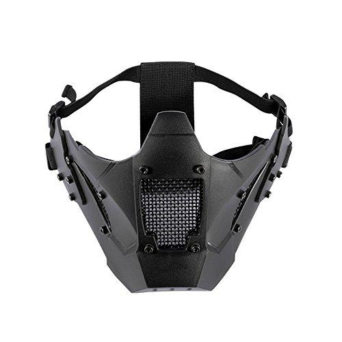 OneTigris Airsoft Steel Mesh Mask Lower Face ZM07?>