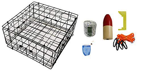 KUFA Vinyl Coated Crab Trap with Crabbing Accessory Kit (S60+CAM1)?>