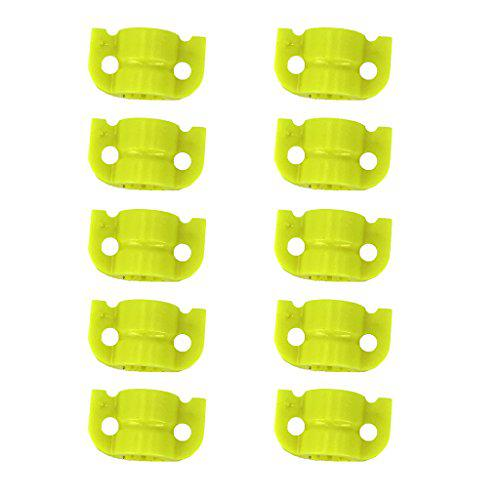 MagiDeal 10pcs Plastic Archery Bowfishing Safety Slider for Fishing Arrow Shafts Outer Diameter 8mm?>