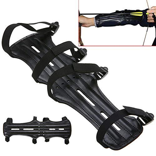 ShopSquare64 Archery Arrow Compound Bow 4 Strap Shooting Target Arm Guards Protection for Hunting Shooting?>
