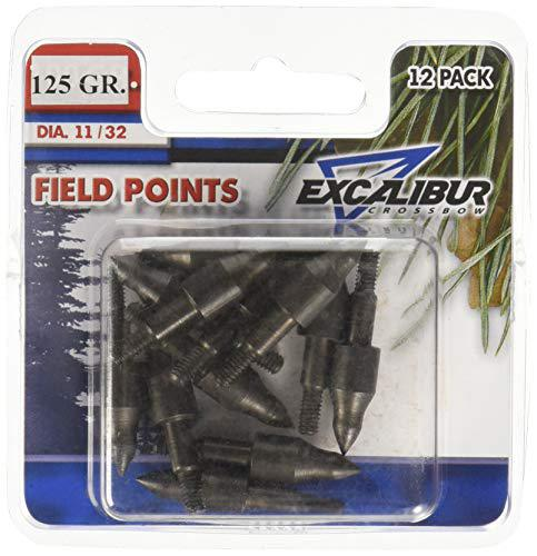 Excalibur Crossbow Field Points, 11/32-Inch, 12 Pack 125 Grain?>