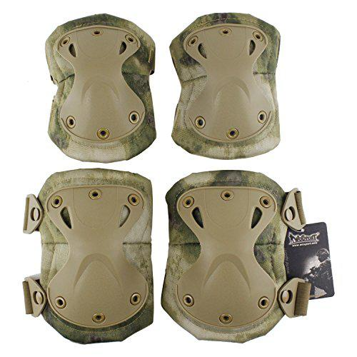Protective King Kong Gear Safety Kneepad Elbow Pad for Outdoor Sports Hunting Paintball Airsoft?>