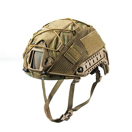 OneTigris Multicam Helmet Cover 05 for Ops-Core Fast PJ Helmet and OneTigris PJ Helmets in Size M (Multicam)?>