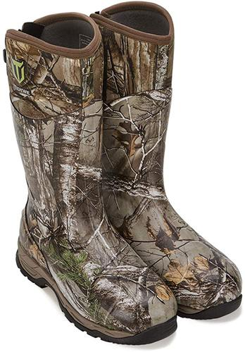 TideWe Rubber Hunting Boots with 800 Insulation, Waterproof Insulated Realtree & Mossy Oak Camo Warm Rubber Boots with 6mm Neoprene, Durable Outdoor Muck Hunting Boots for Men (Size 5-14)?>