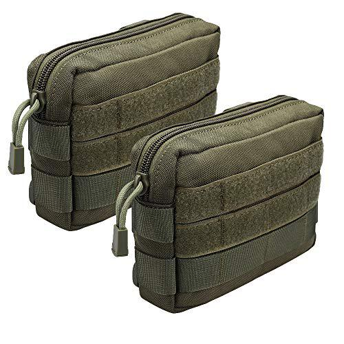 XTACER Tactical MOLLE Modular Small Utility Pouch EDC Bag Waist Pouches?>