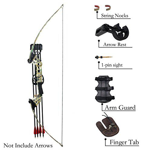 SinoArt 40 Lbs Archery Hunting Takedown Recurve Bow Right Hand Alloy Riser Fiber Limbs Practice Shooting Bow?>