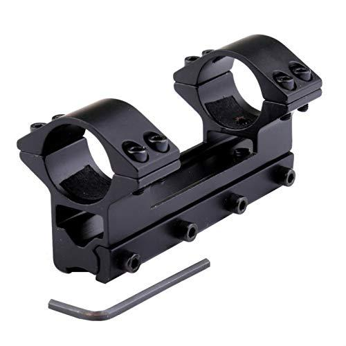 "Scope Mount One Piece High Profile Magnum Airgun Mount with Stop Pin 25.4mm 1"" Ring fit 11mm Dovetail Rail Weaver Air Rifle?>"