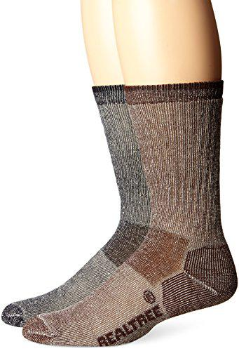 RealTree Merino Wool Boot Socks, 2 Pair?>