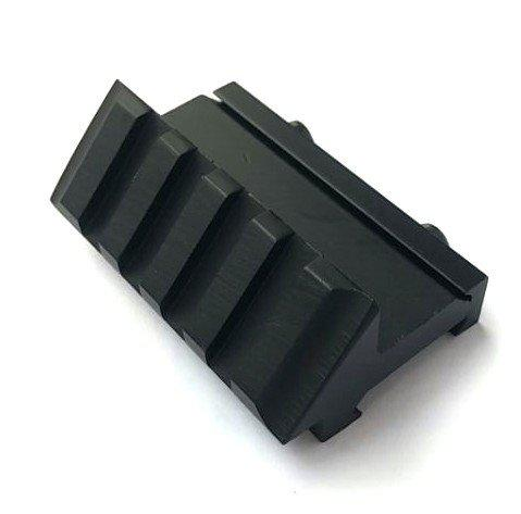 H World Shopping Airsoft Aluminium 45 Degree Offset Single Side 20mm Picatinny Weaver Rail Mount?>