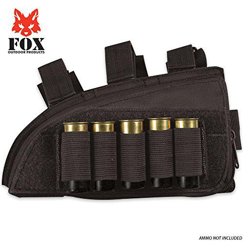 "Fox Outdoor Products Shotgun Butt Stock Cheek Rest (8"" x 4.75"")?>"