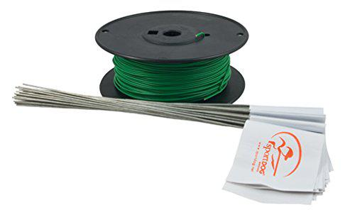 SportDOG Brand Wire and Flag Accessory Kit - Expands Your SportDOG Brand In-Ground Fence - Contains 150 Metres of 20-Gauge Wire, 50 Flags, 2 Wire Nuts, and 2 Waterproof, Gel-Filled Splice Capsules?>