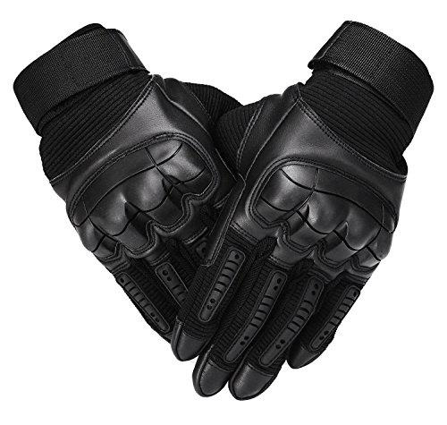 Tactical Military Hard Knuckle Full Finger Gloves for Army Airsoft Paintball Combat Motorcycle Cycling Bicycle Hunting Riding Shooting Work Gear?>