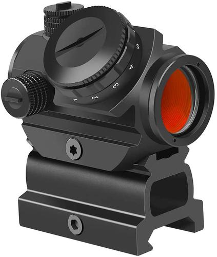 "Feyachi RDS-22 2MOA Micro Red Dot Sight Compact Red Dot Scope with 0.83"" Riser Mount Absolute Co-Witness with Iron Sight?>"
