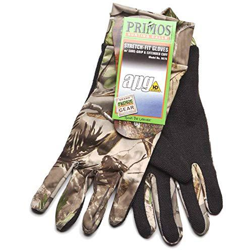 Primos Stretch-Fit Gloves (Realtree APG HD)?>