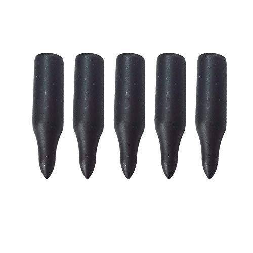 12 Pcs 5/16 Archery Glue on Field Points Archery Bullet Points Targeting Practice Tips for 8 mm Wood Bamboo Arrow?>