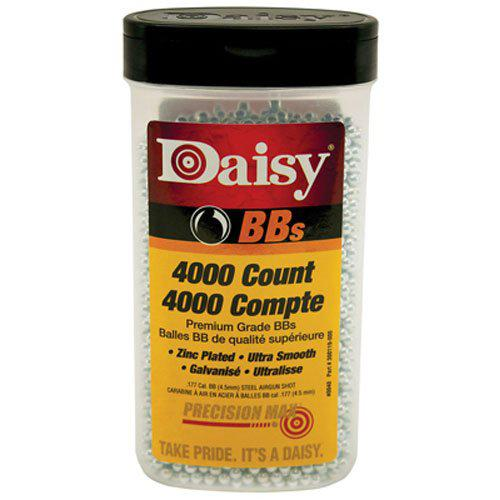 Daisy Outdoor Products 4000 Ct BB Bottle (Silver, 4.5 Mm)?>