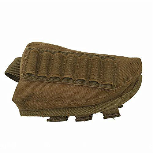 Rifle Stock Pack Cheek Pad Buttstock Ammo Holder and Zippered Utility Pouch?>