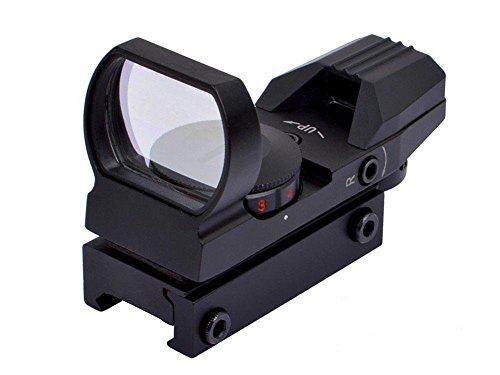 007Outdoor Tactical Red and Green Dot Reflex Sight Scope with 4 Reticles for Airsoft Hunting?>