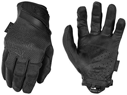 Mechanix Wear - Specialty 0.5mm High Dexterity Covert Tactical Gloves (Large, Black)?>