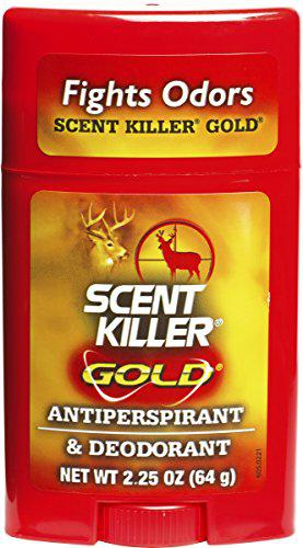 Scent Killer Gold 1247 Wildlife Research Scent Killer Gold Antiperspirant and Deodorant?>