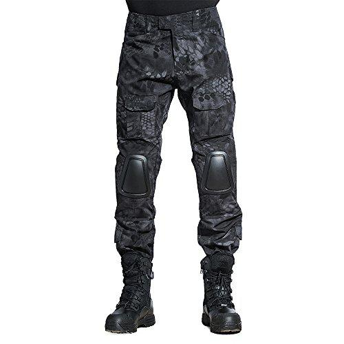 SINAIRSOFT Tactical Pants Shirt with Knee Pads Army Airsoft Combat BDU Pants Shirt Typhon?>
