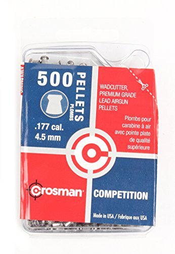 Crosman 500-Count Competition .177-Caliber Wadcutter Pellets?>