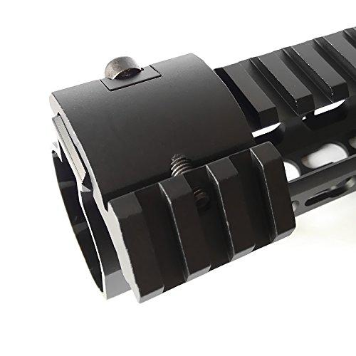 HWZ Low Profile Offset Picatinny Mount 45 Degree 20mm Side Black For Mangifiers, Flashlights AR?>