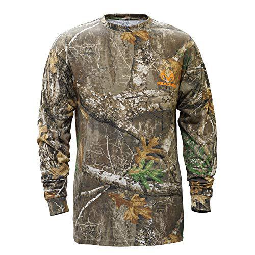 Staghorn Mens All Over Camo Long-Sleeve Tee Shirt?>