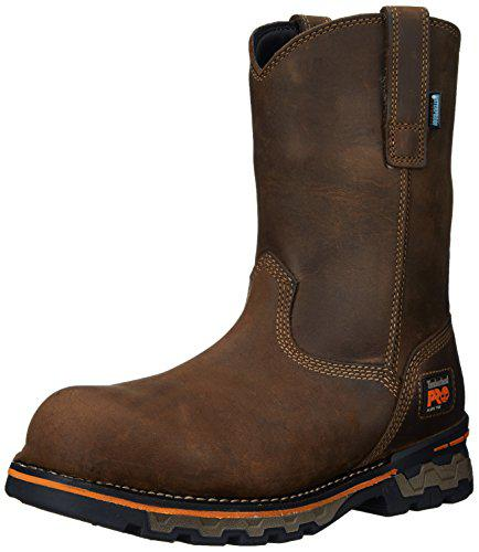 Timberland PRO Men's AG Boss Pull-On Alloy-Toe Waterproof Work and Hunt Boot?>