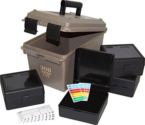 MTM ACC308 308-Caliber Ammo Can with 4 RM-100 Boxes, Dark Earth?>