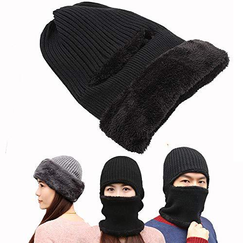 Winter Ski Mask Balaclava, Wind-Resistant Face Mask, Thermal Fleece, Earmuff?>