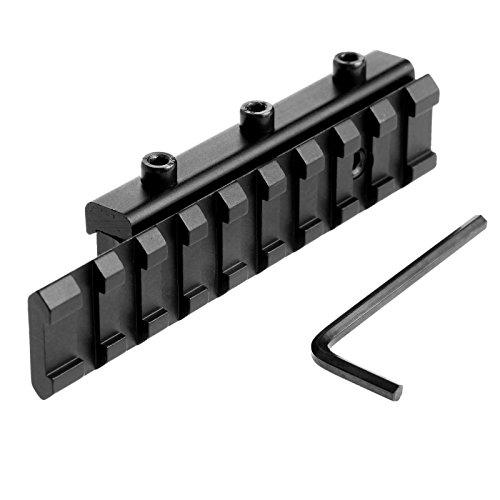 Tactical Dovetail Scope Extend Mount 11mm to 20mm Picatinny Weaver Rail Adapter?>