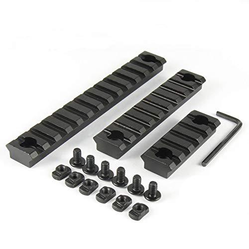 Aluminum M-Lok Picatinny Rail,5-Slot 9-Slot 13-Slot Lightweight MLok Picatinny Rail Section Accessories for M-LOK Compatible System?>
