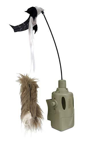 ICOtec PD400 Predator Decoy – Lightweight, Compact, and Quiet – Includes Speed Dial, Intermittent Motion, LED Lights, 2 Quick Change Toppers – for Use with ICOtec GC300, GC320, GC350 and GC500?>