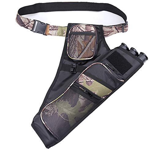 XTACER Quiver Hunting Training Camo Archery Arrow Quiver Holder Bow Belt Shoulder Bag Pouch?>